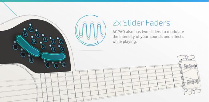 ACPAD - 2 Adet Slider Fader