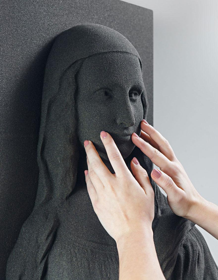 Görme Engelliler Klasik Sanat Tablolarını Deneyimliyor