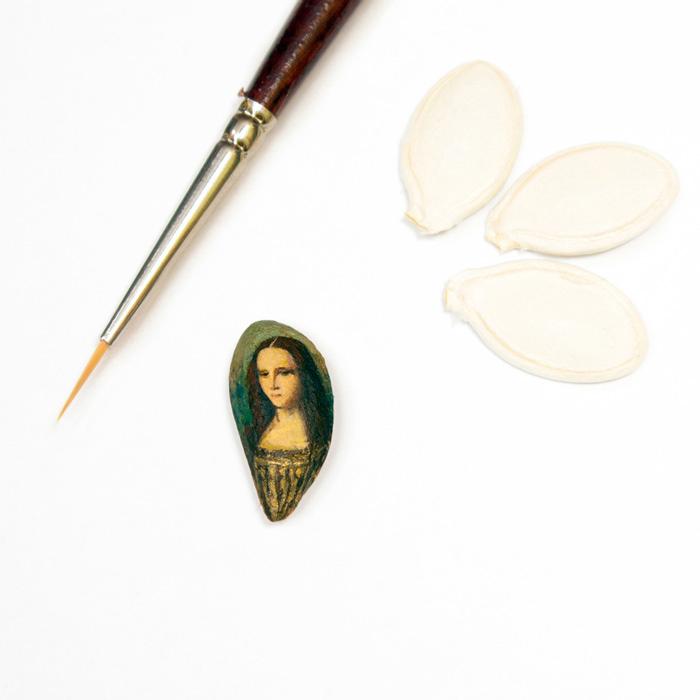 Minyatür Ünlü Resimler