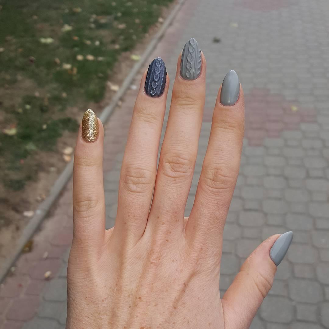 Kazak Desenli Tırnaklar