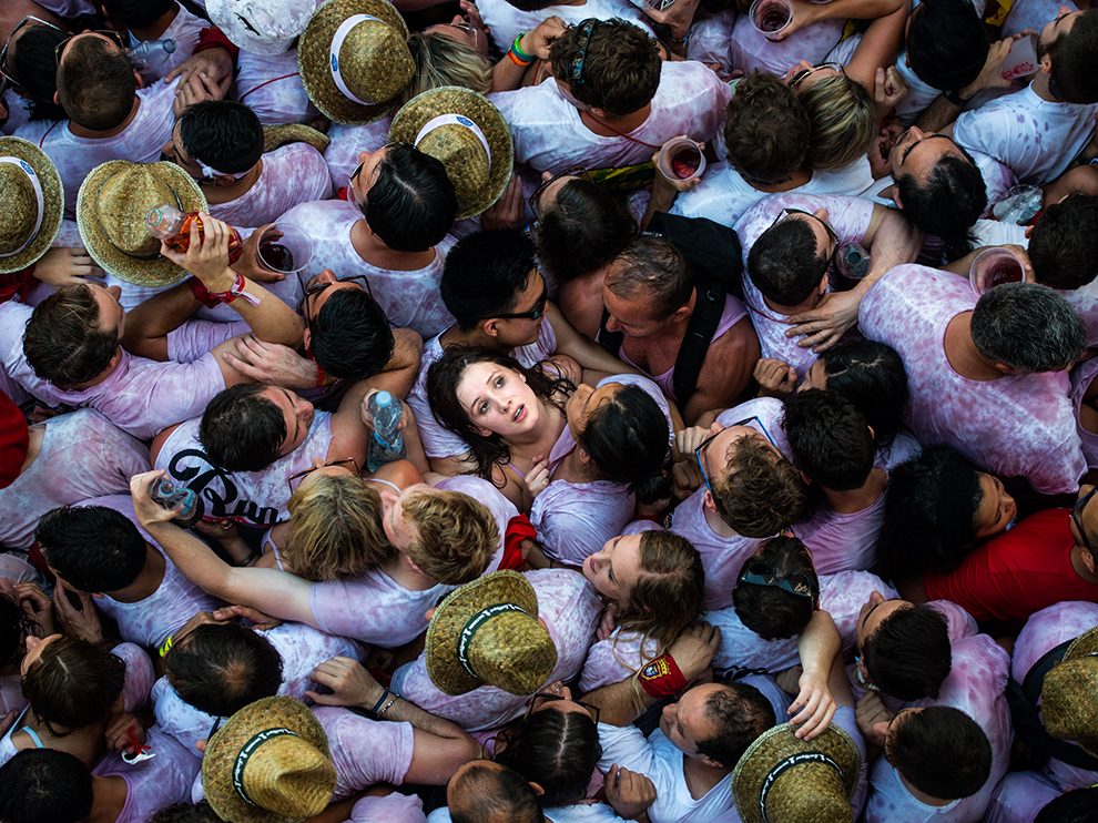 Pamplona'da Boğa Koşusu, İspanya