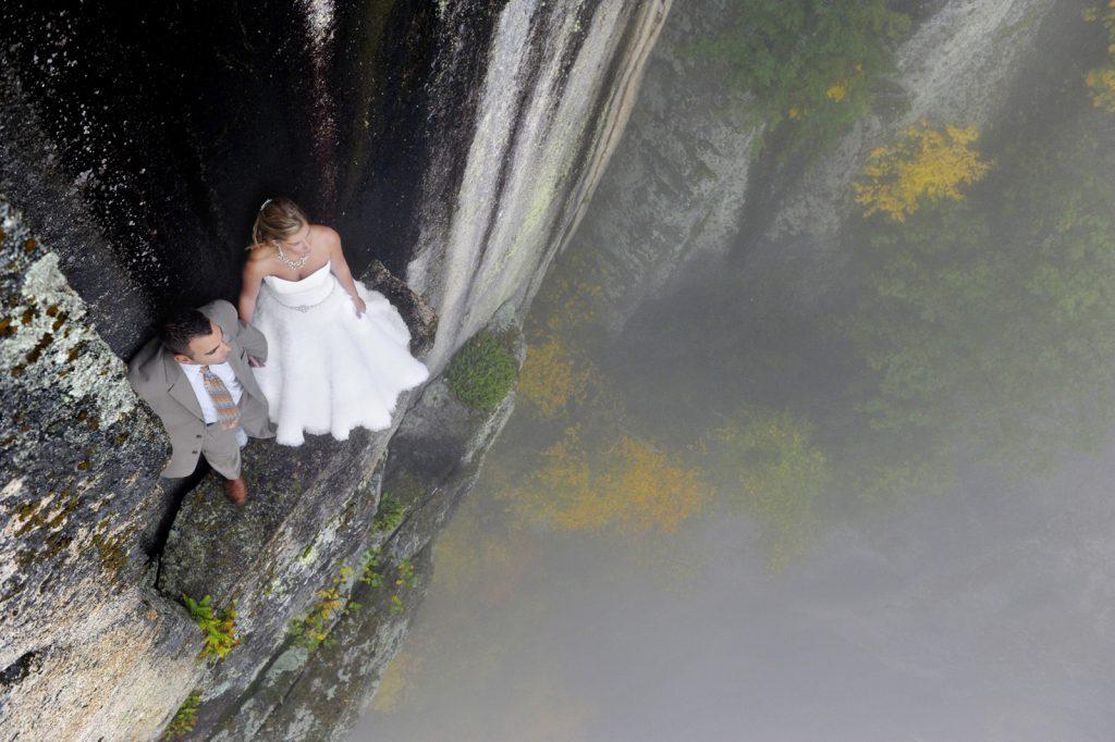 106 Metrelik Uçurumda Nefes Kesen Fotoğraflar