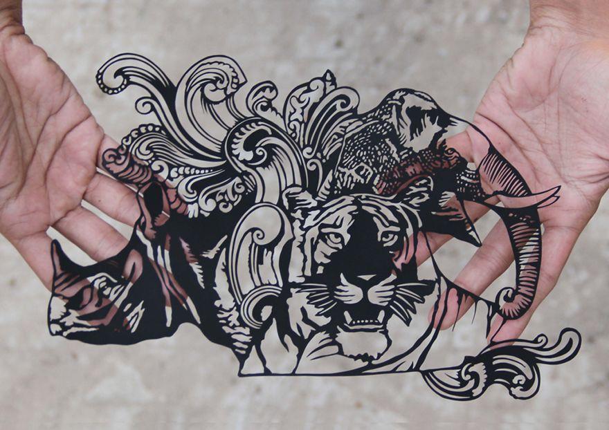Kothekar'ın Nefis Kağıt Kesme Sanatı