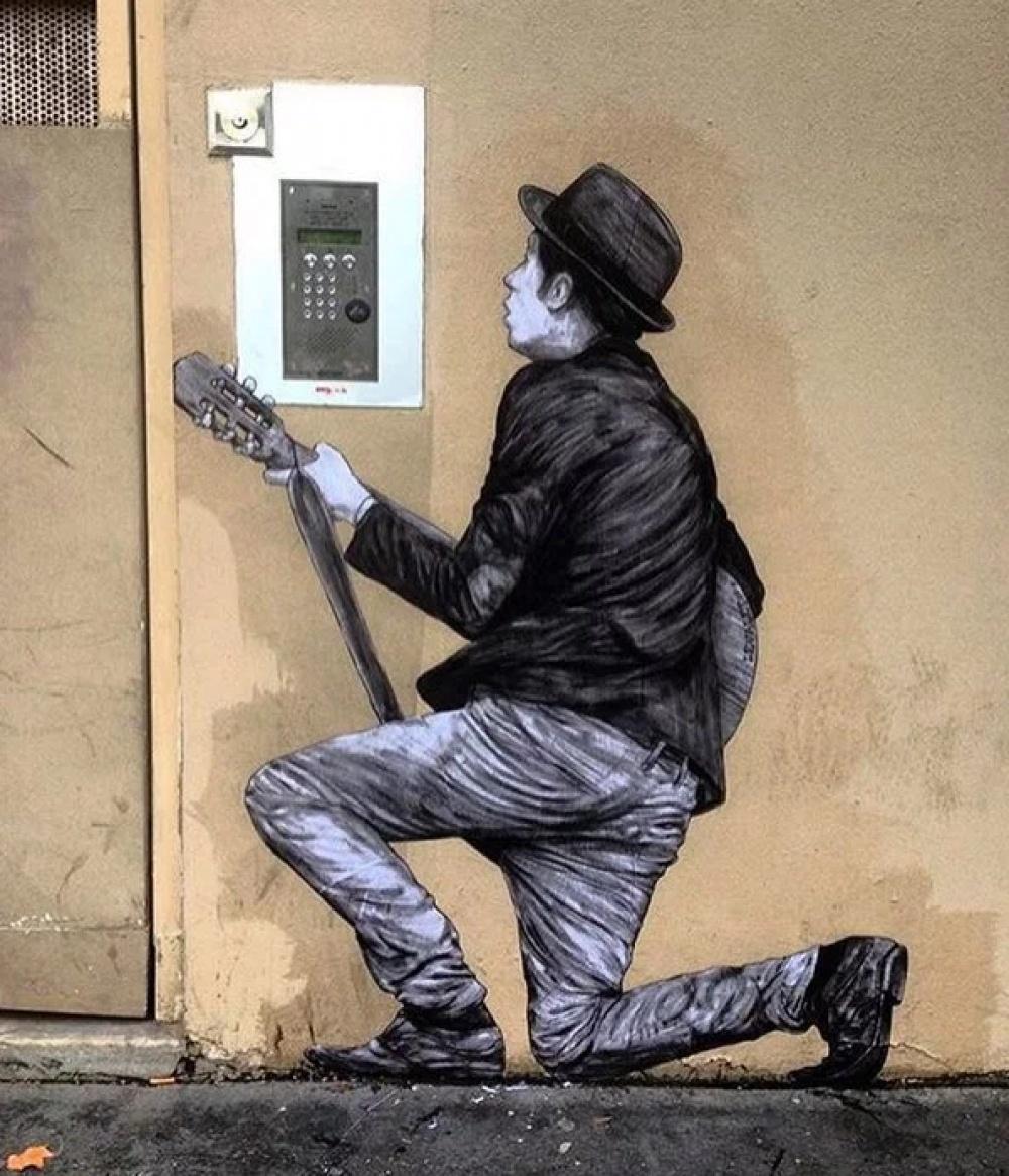 Sokak Sanatının Birbirinden Güzel 20 Örneği