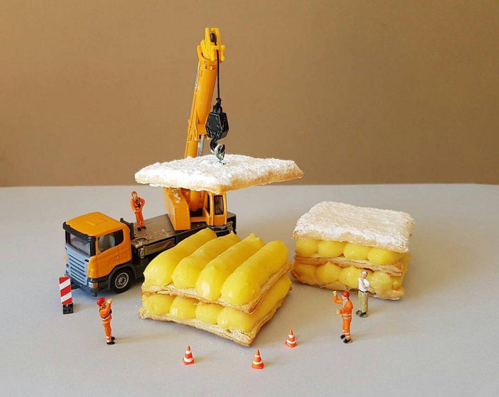 İtalyan Pasta Şefi Ve Tatlı Eserleri 16
