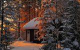 Kış Aylarında Kaçamak Yapılacak 15 Küçük Ev