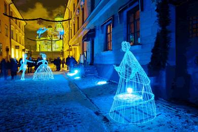 Helsinki LUX Işık Festivali