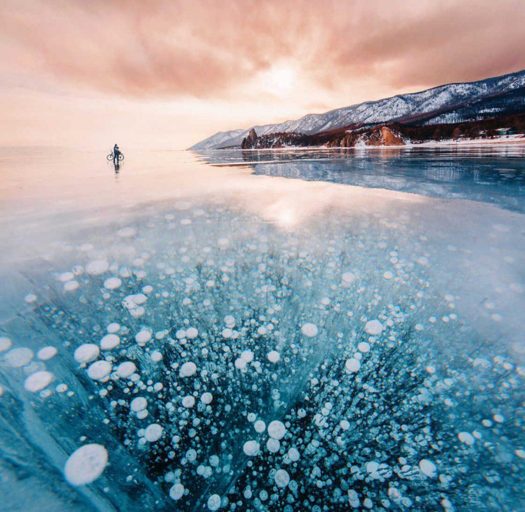 Baykal Gölü'nün Etkileyici Fotoğrafları