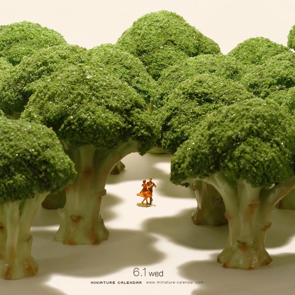 Japon Sanatçının 5 Yıldır Her Gün Oluşturduğu Minyatür Dioramaları