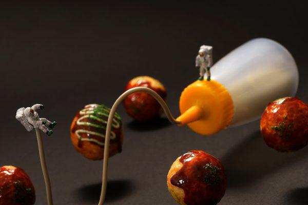 Japon sanatçının minyatür dioramaları
