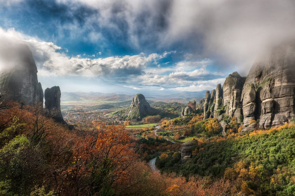 Meteora Yunanistan