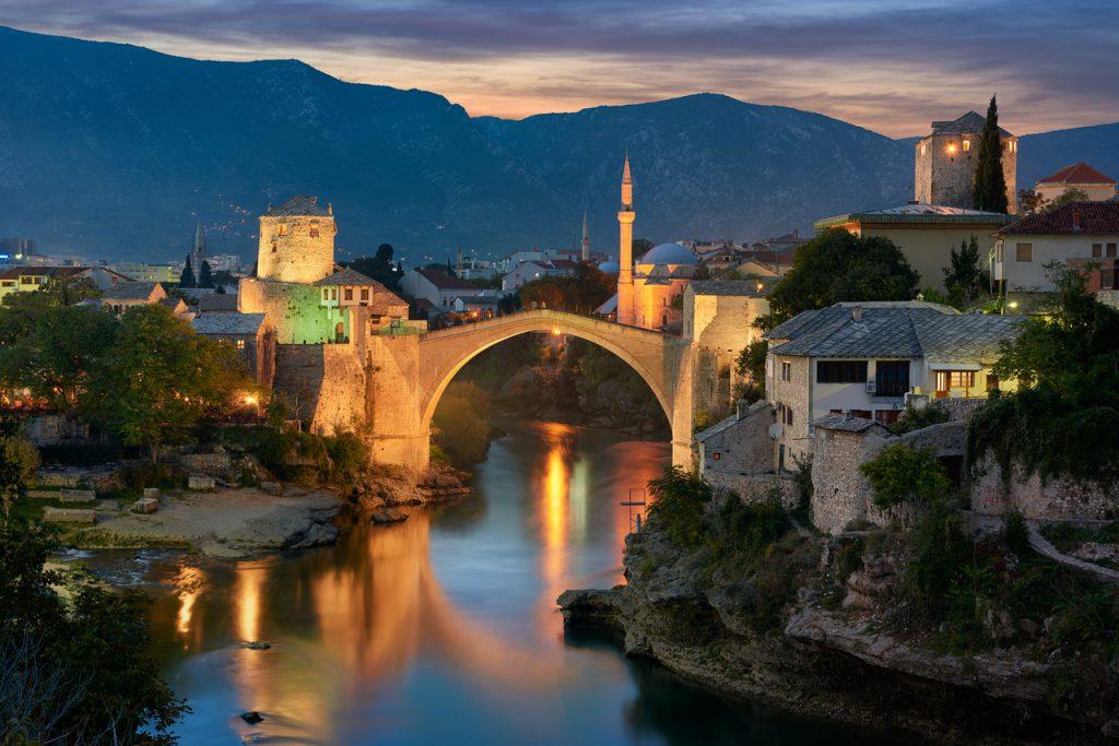Mostar Bosna Hersek